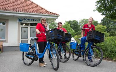 Unsere neuen Fonville Fahrräder